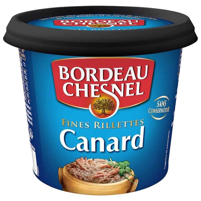 Rillettes de canard 70%, Bordeau Chesnel (220 g)