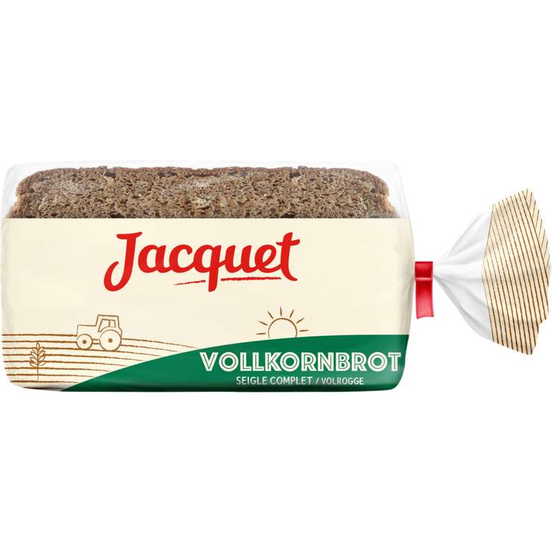 Pain complet au seigle Vollkornbrot, Jacquet (500 g)