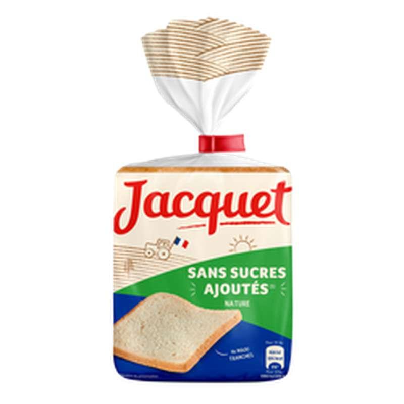 Pain de mie nature sans sucre ajouté, Jacquet (550 g)