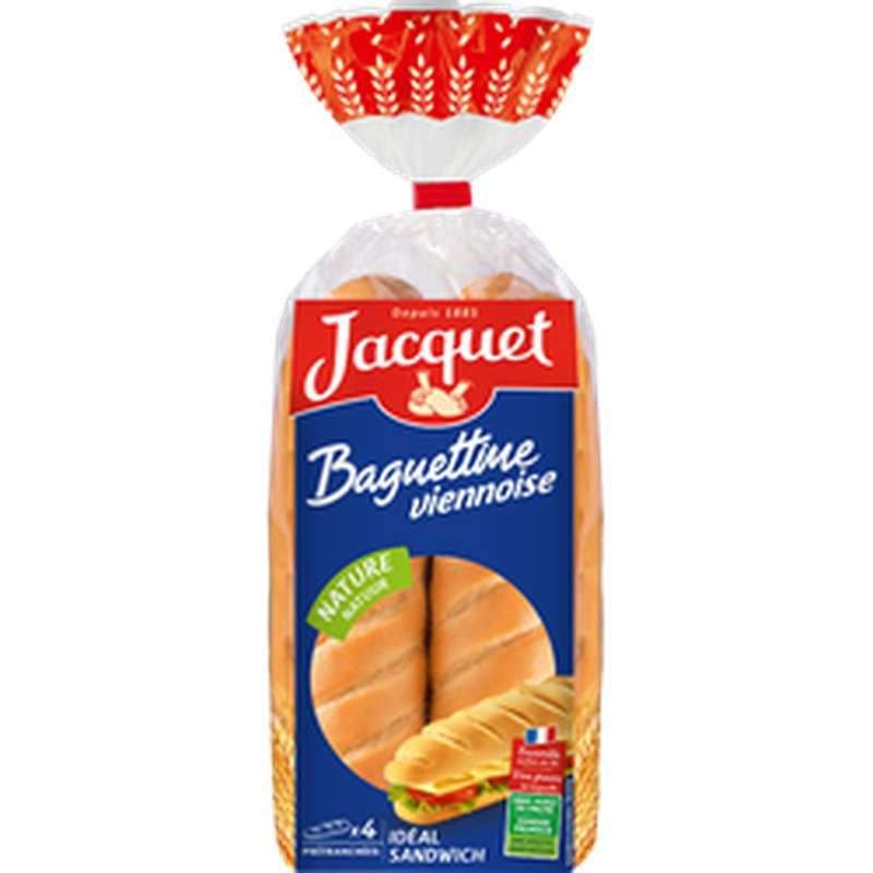 Baguettine viennoise nature, Jacquet (4 x 340 g)