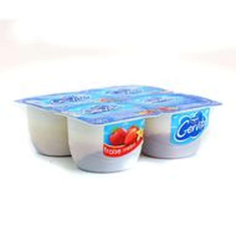 Gervita saveur fraise melba, Danone (4 x 100 g)
