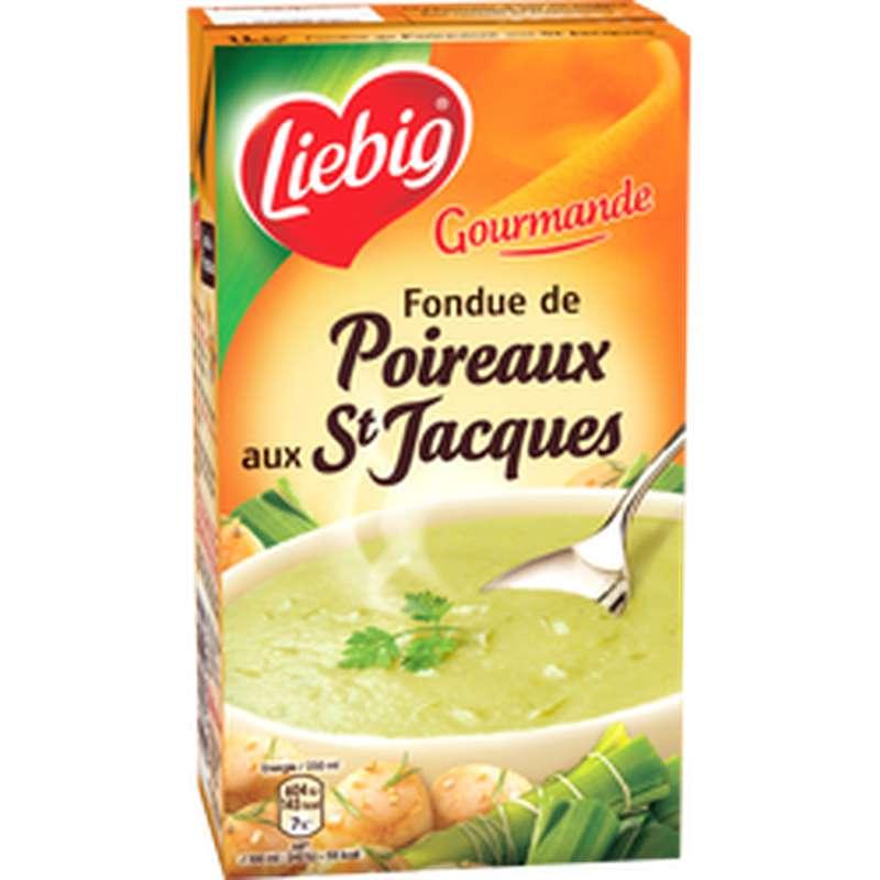 Fondue de poireaux et St Jacques les gourmandes, Liebig (1 L)