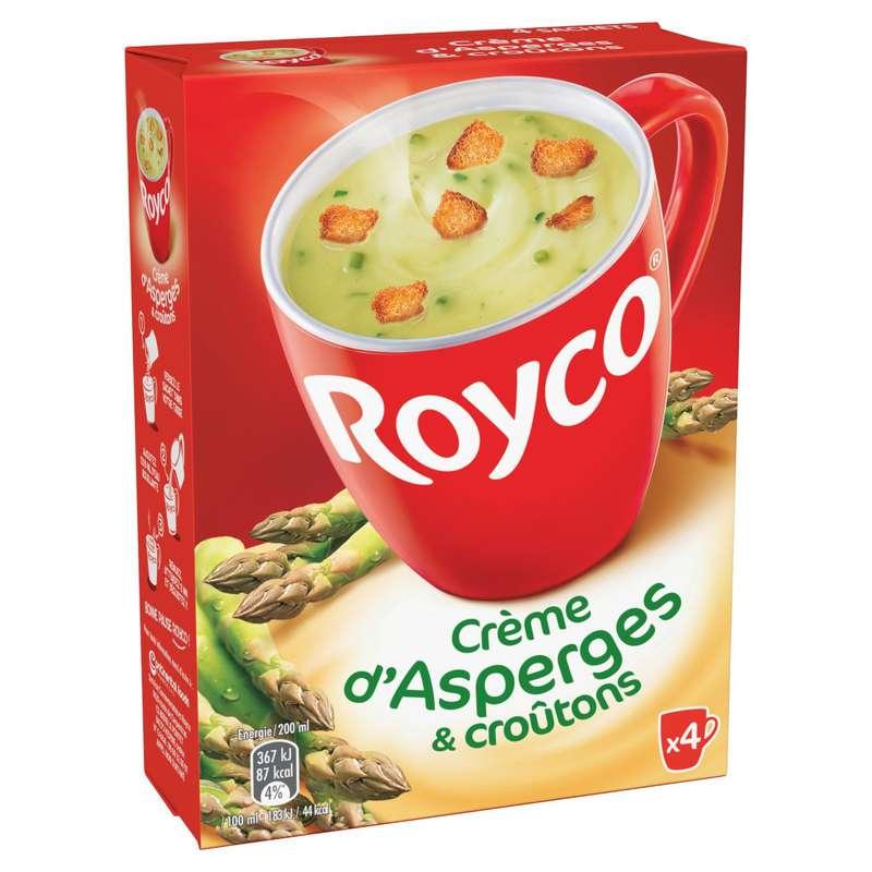 Soupe déshydratée asperges croûtons, Royco (80 g)