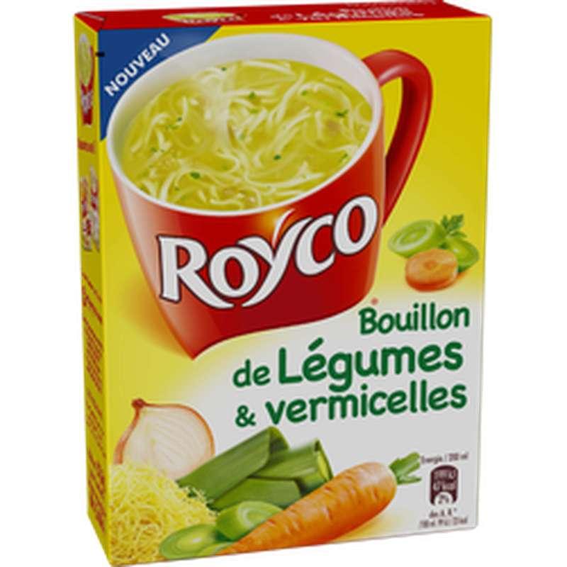 Bouillon de légumes et vermicelles Minute soup', Royco (60 cl)