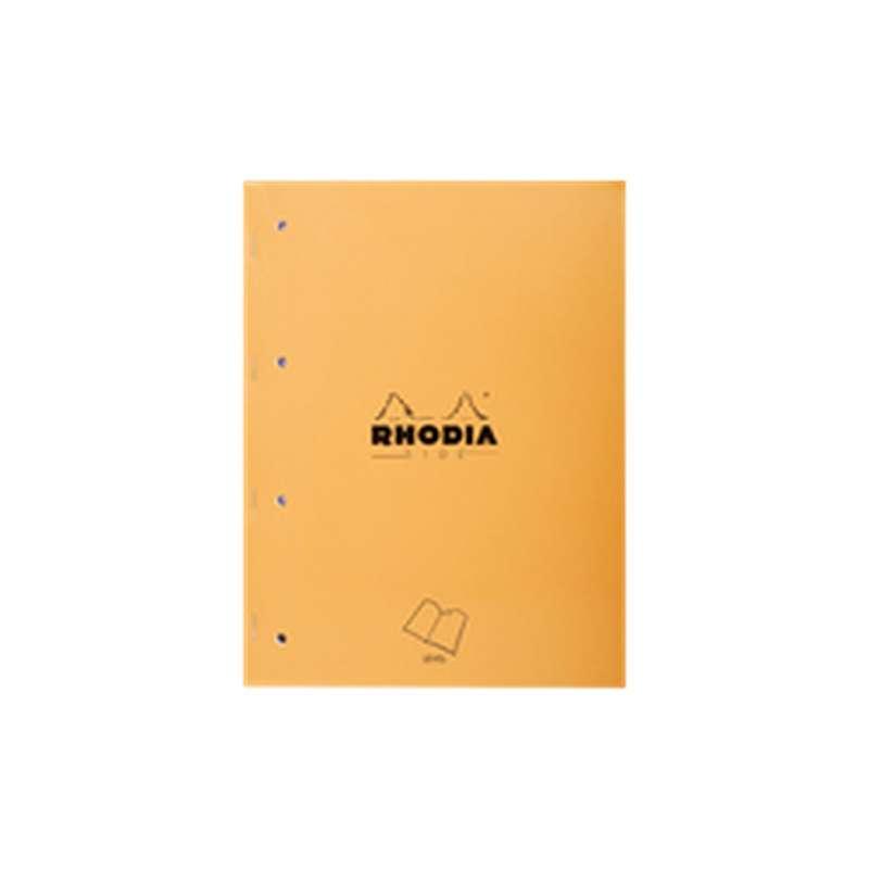 Carnet de notes grands carreaux, Rhodia (x 1, 160 pages)