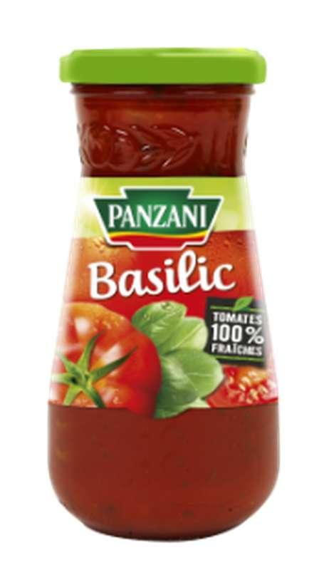 Sauce tomate basilic, Panzani (210 g)
