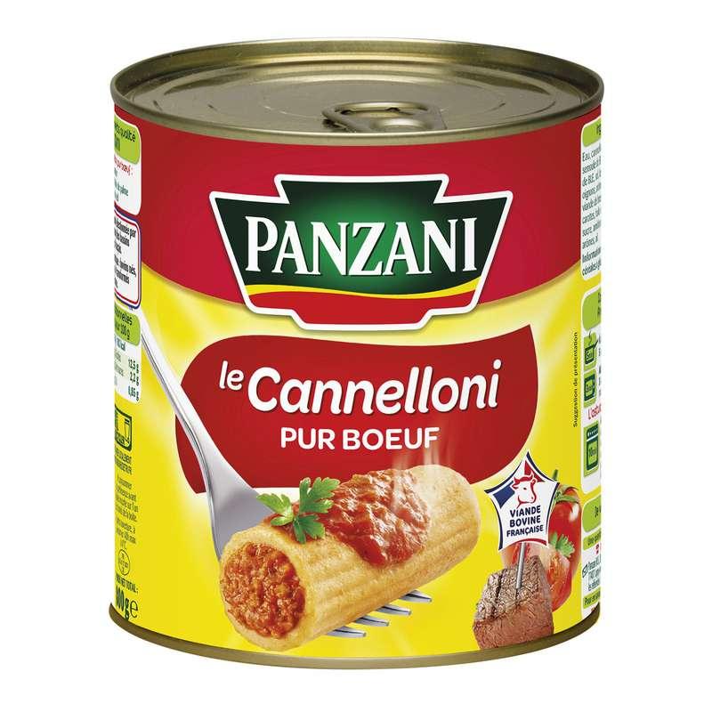 Plat cuisiné Cannelloni pur bœuf, Panzani (800 g)