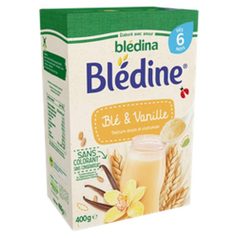 Lait Blédine saveur vanille - dès 6 mois, Blédina (400 g)