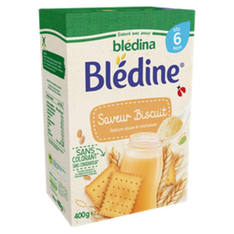 Lait Blédine saveur biscuit - dès 6 mois, Blédina (400 g)