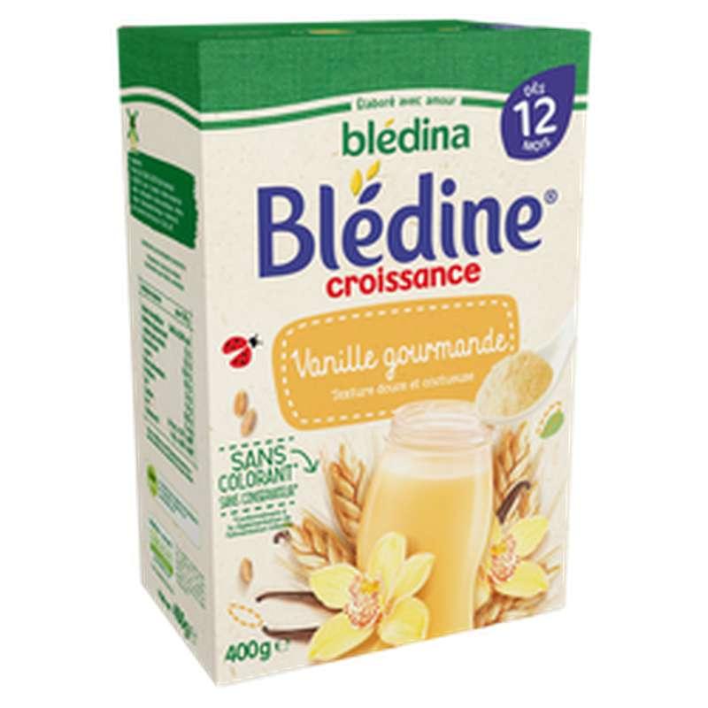 Lait de croissance Blédine saveur vanille - dès 12 mois, Blédina (400 g)