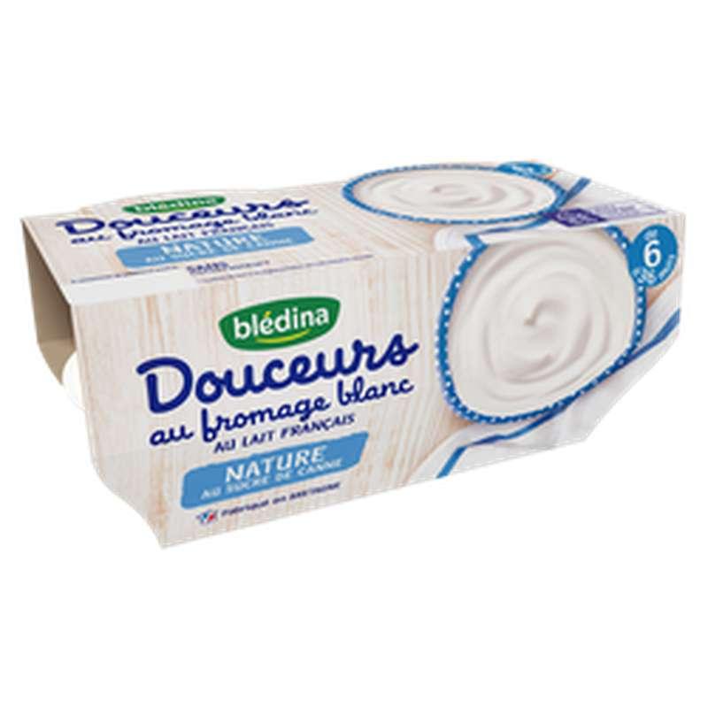 Douceurs au fromage blanc nature - dès 8 mois, Blédina (4 x 100 g)