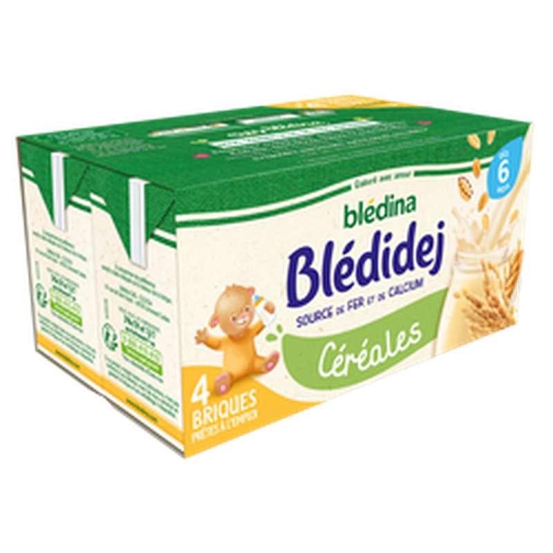 Blédidej céréales - dès 6 mois, Blédina  (4 x 250 ml)