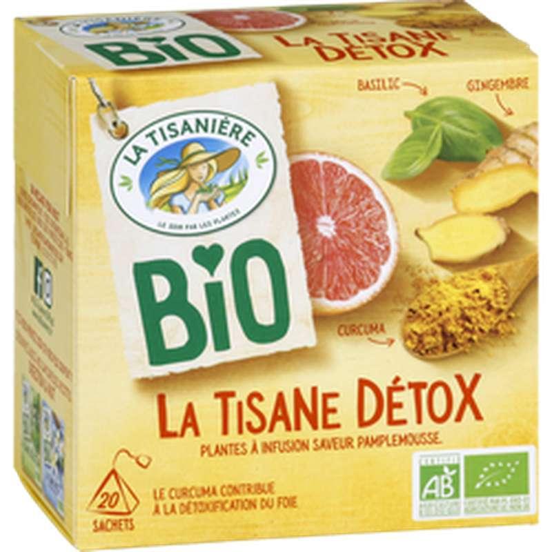 La Tisane Detox Bio, La Tisanière (x 20)