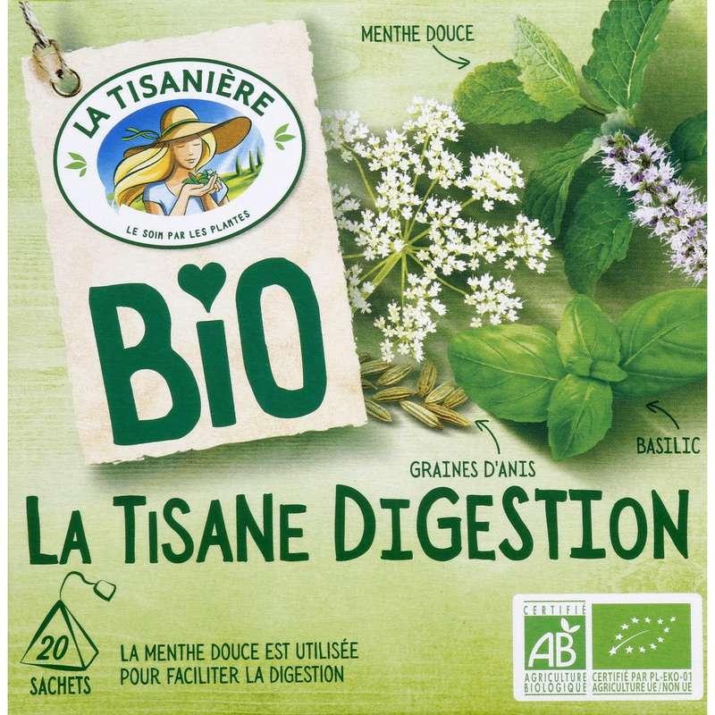 Infusion digestion BIO, La Tisanière (20 sachets)
