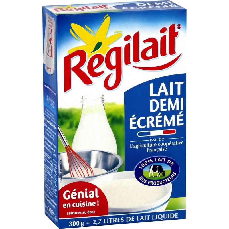 Lait demi écréme en poudre, Regilait (300 g)
