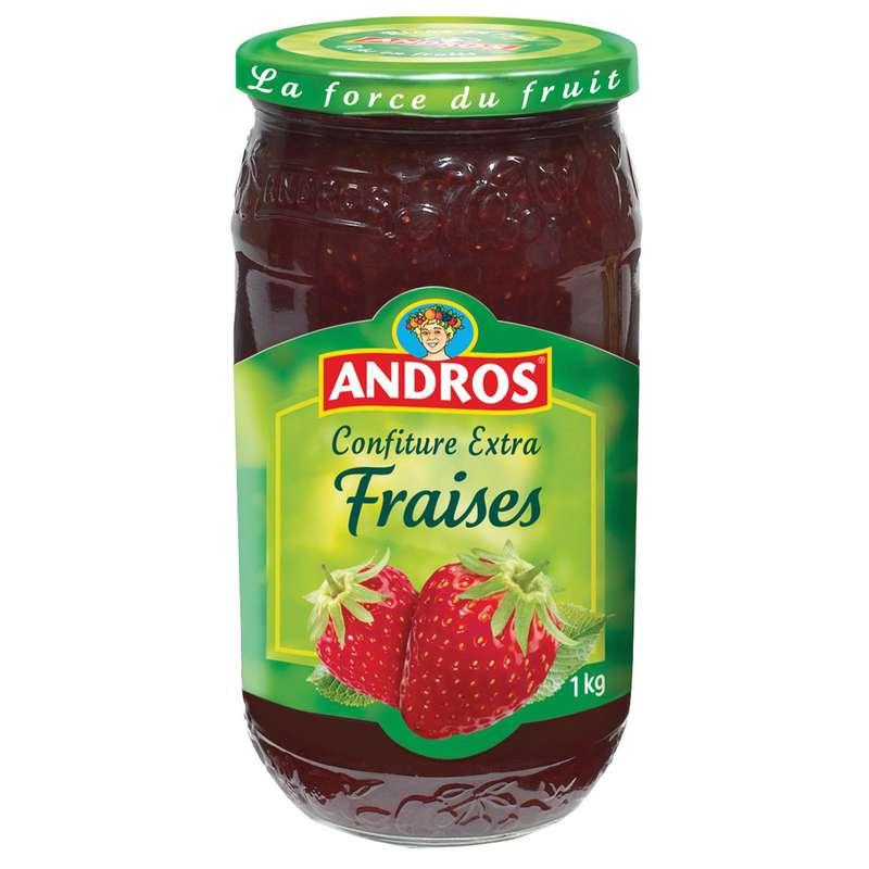 Confiture fraises, Andros (1 kg)