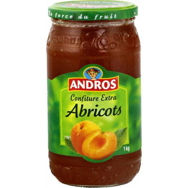 Confiture abricots, Andros (1 kg)