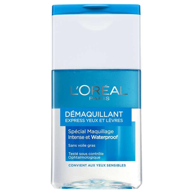 Démaquillant express Waterproof, l'Oréal (125 ml)