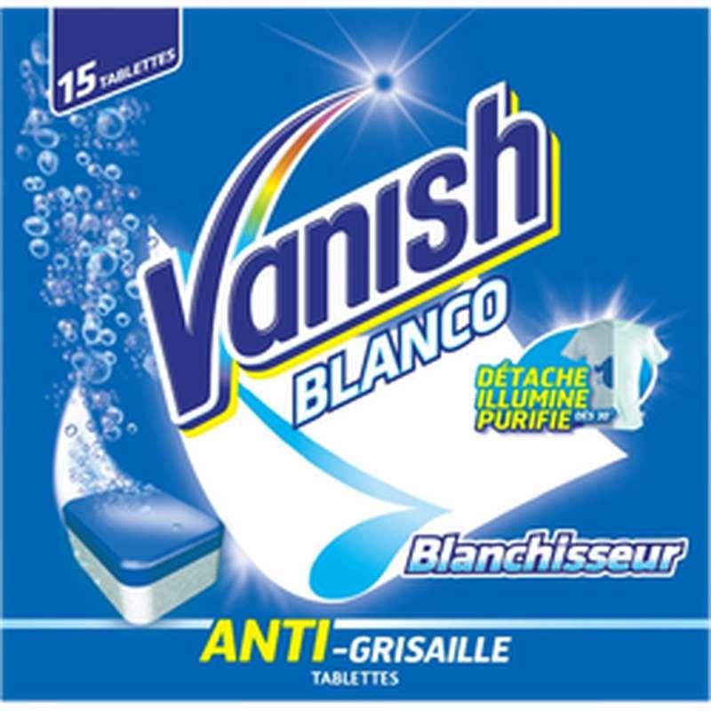 Activateur de blancheur en tablettes, Vanish (x15)