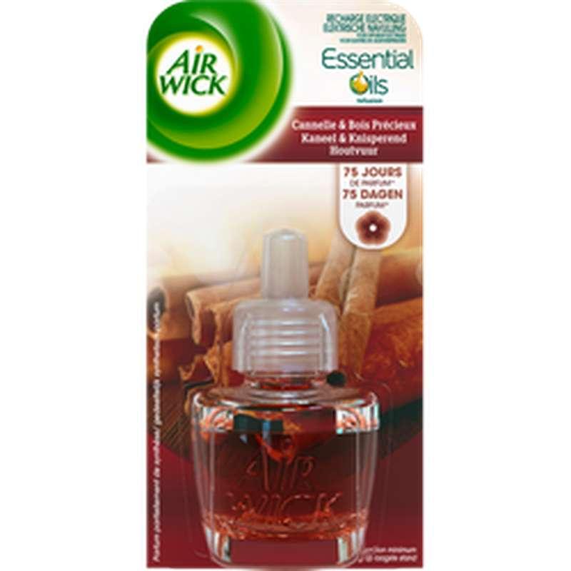 Recharge pour diffuseur électrique parfum cannelle et bois précieux, Air Wick