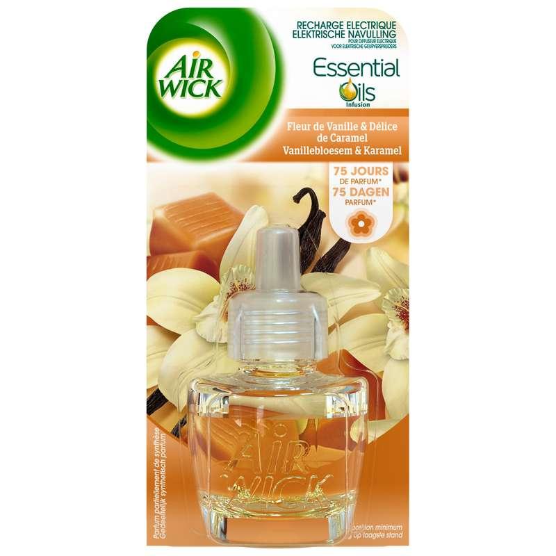 Recharge diffuseur électrique Vanille & Caramel, Air Wick (19 ml)