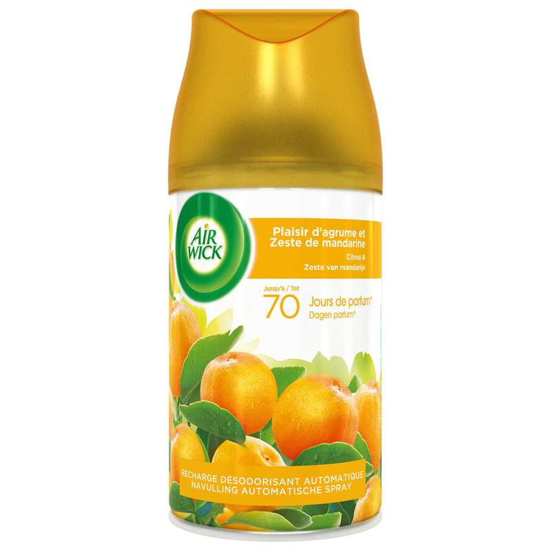Recharge agrume Freshmatic Max, Air Wick  (250 ml)