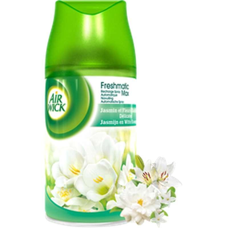 Recharge désodorisant Fresh Matic parfum jasmin, Air Wick (250 ml)