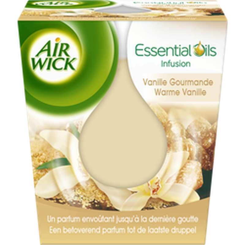 Bougie Essentials oils vanille gourmande, Air Wick