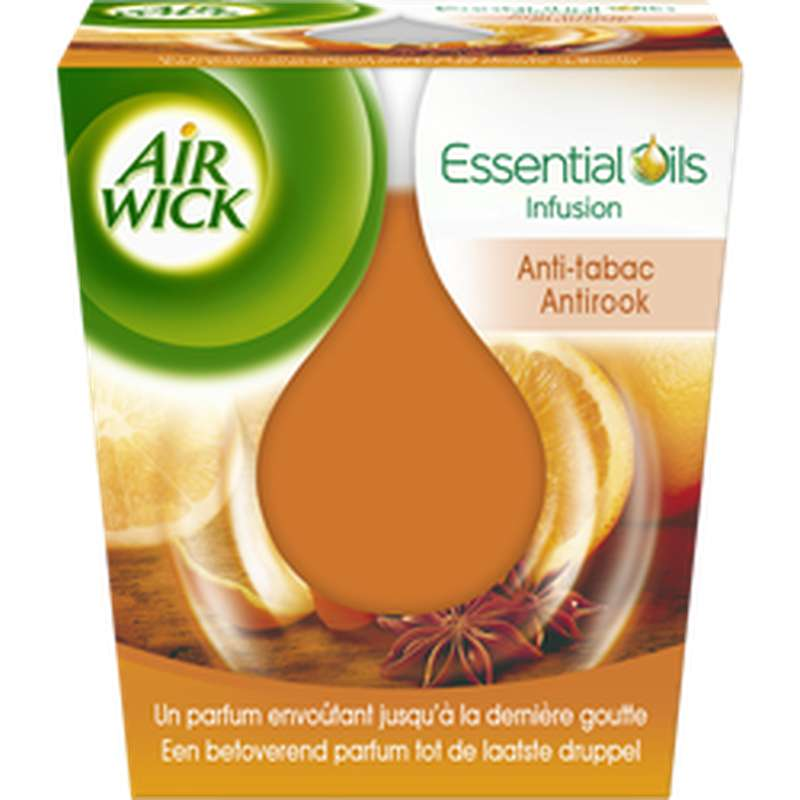 Bougie Essentials oil anti-tabac, Air Wick