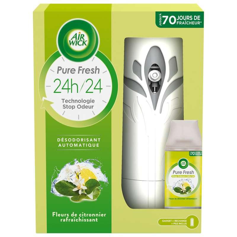 Désodorisant automatique Fresh Matic Pure fleur de citronnier, Air Wick
