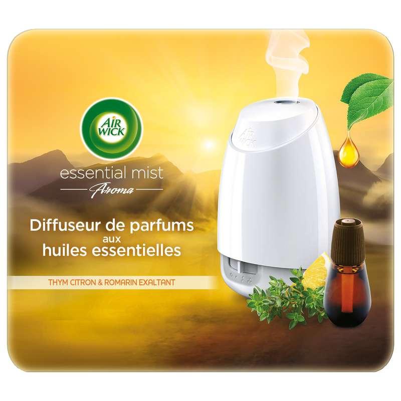 Diffuseur d'intérieur Essential Mist Aroma thym, citron et romarin, Air wick