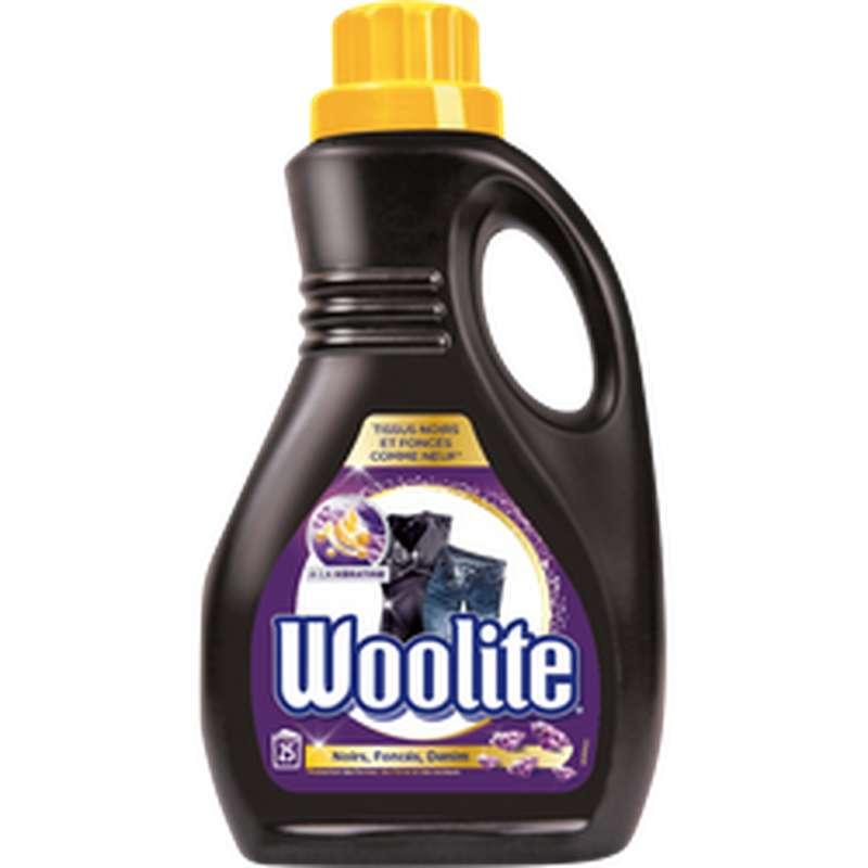 Lessive pour vêtements noir & foncé, Woolite (x 25 lavages, 1.5 L)