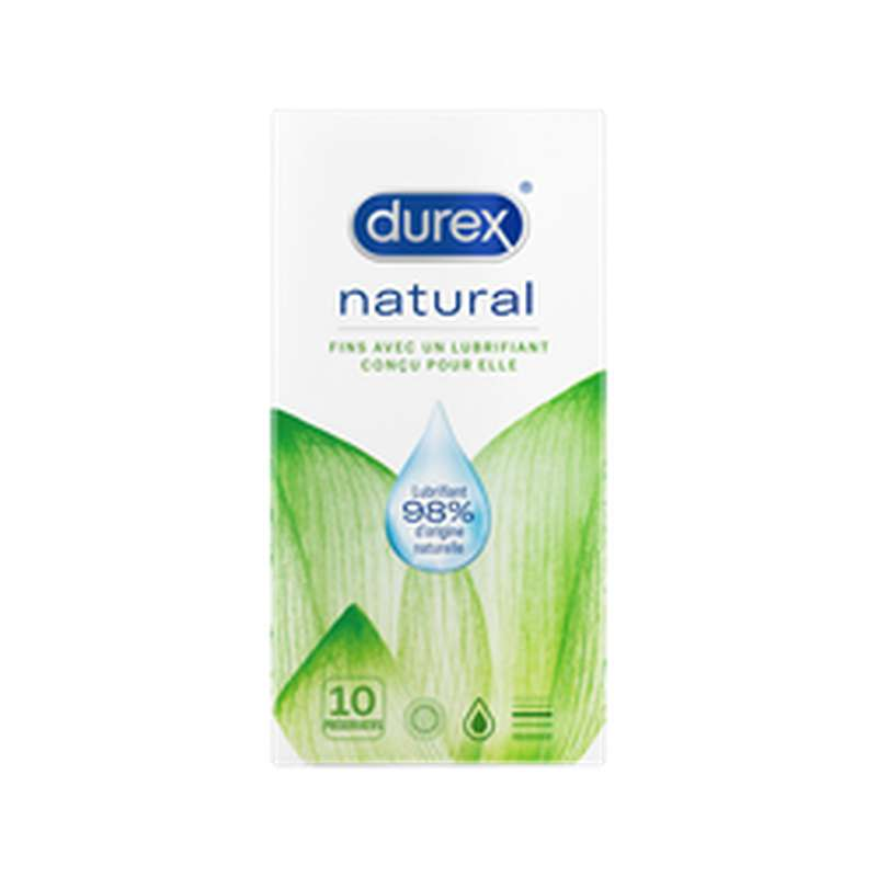 Préservatifs Natural, Durex (x 10)