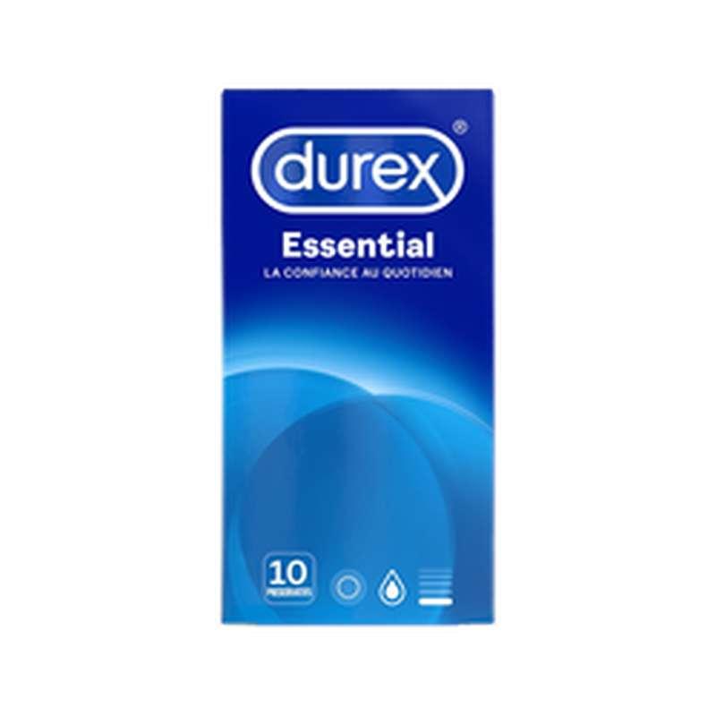 Préservatifs Essential, Durex (x 10)