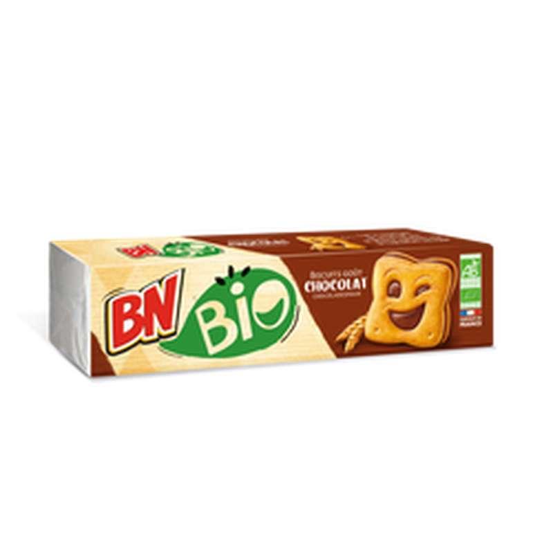 Biscuits fourrés Chocolat BIO, BN (x12, 225 g)