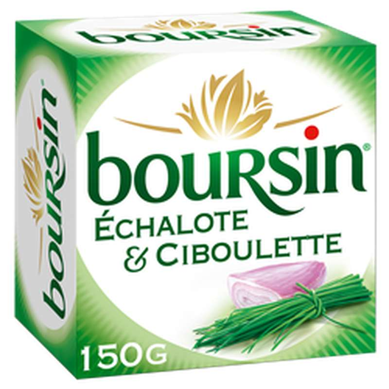 Boursin échalote et ciboulette (150 g)