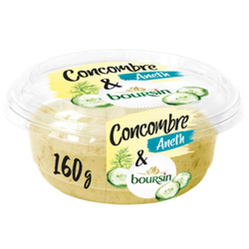 Tartinable concombre et aneth, Boursin (160 g)
