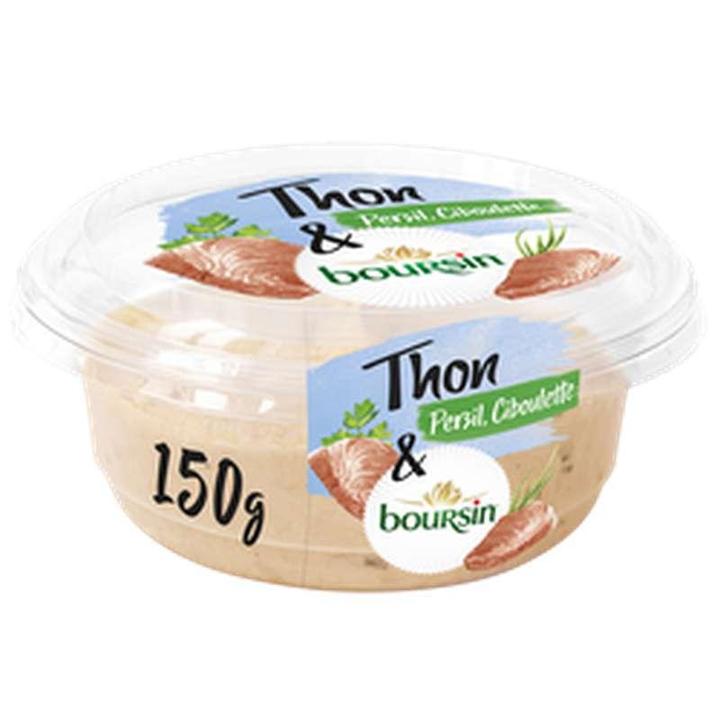 Tartinable thon, persil et ciboulette, Boursin (150 g)