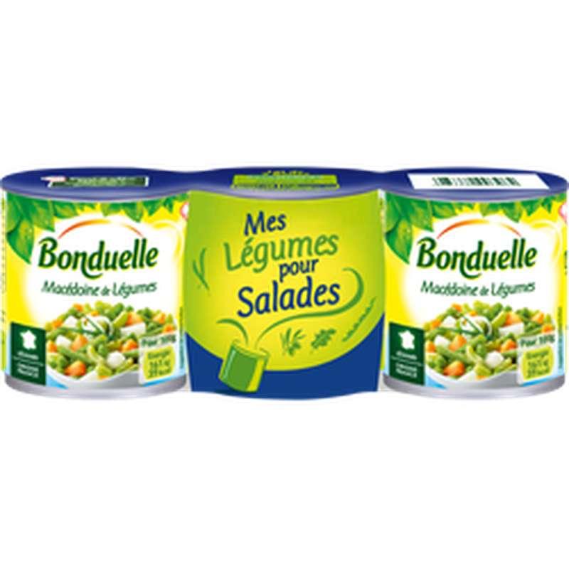 Macédoine de Légumes, Bonduelle (x3 x 390g)