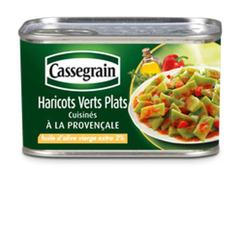 Haricots verts plats à la Provençale, Cassegrain