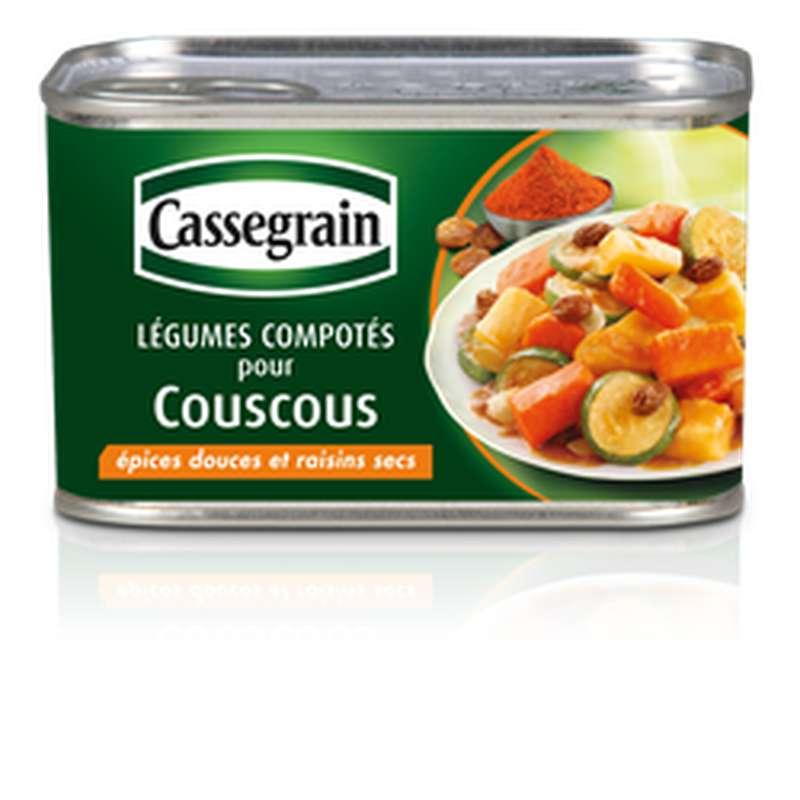 Légumes compotés pour couscous, Cassegrain (375g)