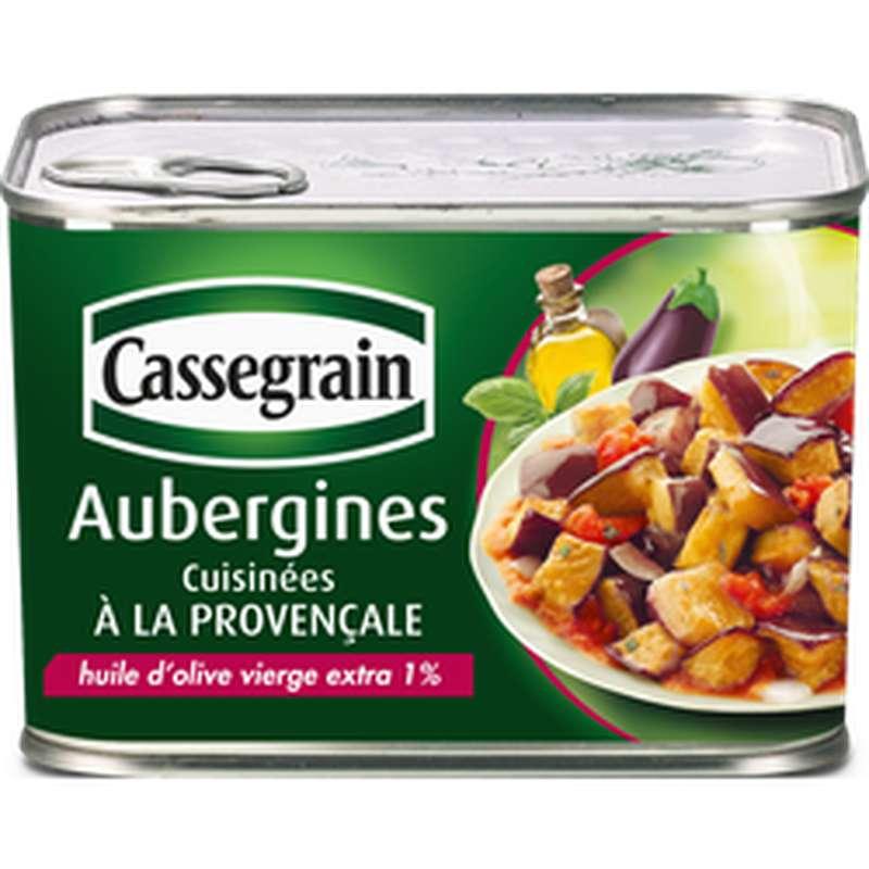 Aubergines à la provençale, Cassegrain (660g)