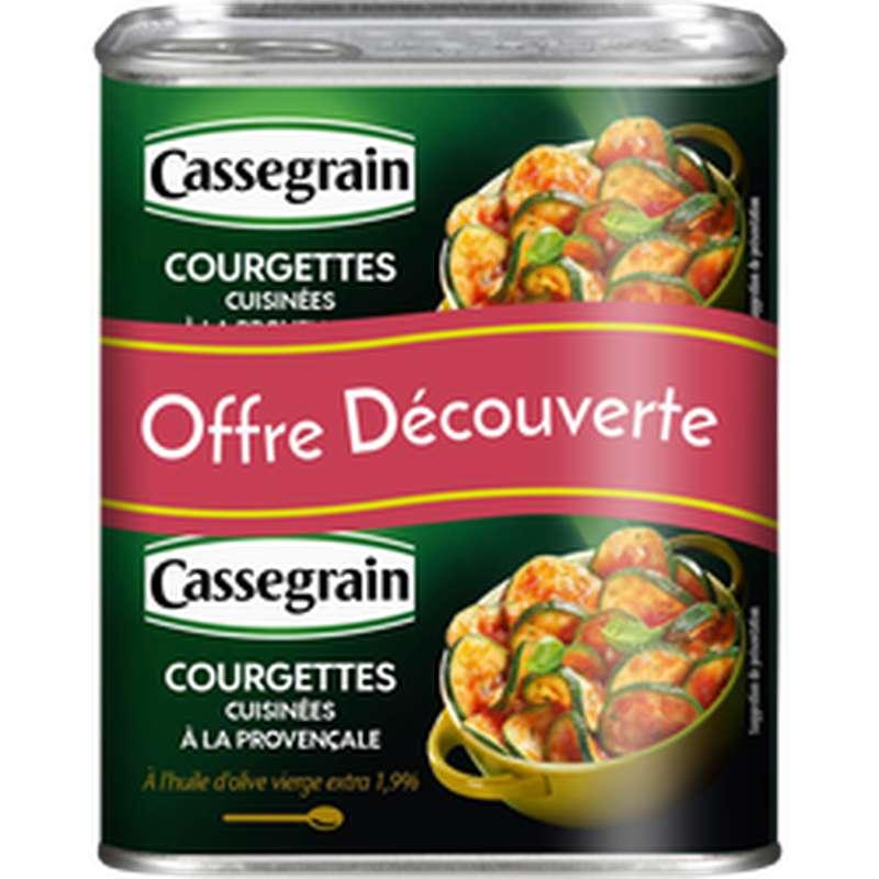 Courgettes à la provençale, Cassegrain LOT DE 2 (2 x 375 g)