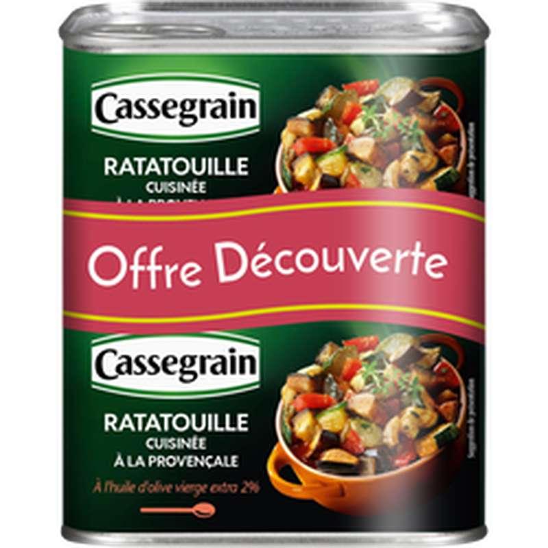Ratatouille cuisinée à la provençale LOT DE 2, Cassegrain (2 x 380 g)