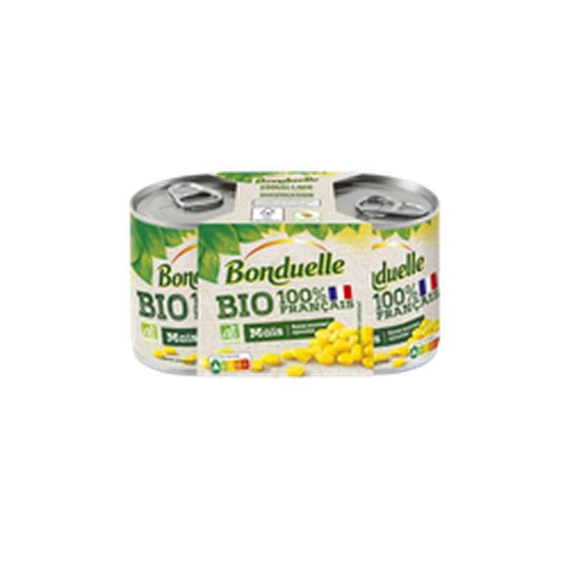 Maïs sans sucres ajoutés BIO, Bonduelle (2 x 140 g)