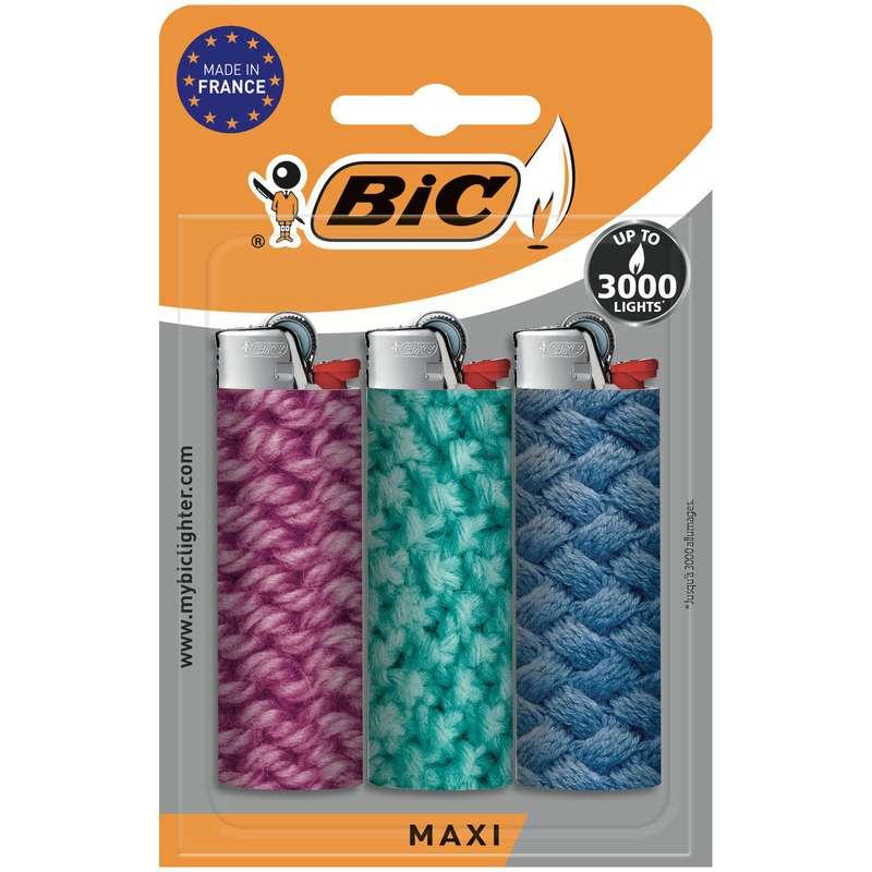 Briquets maxi, Bic (x 3)