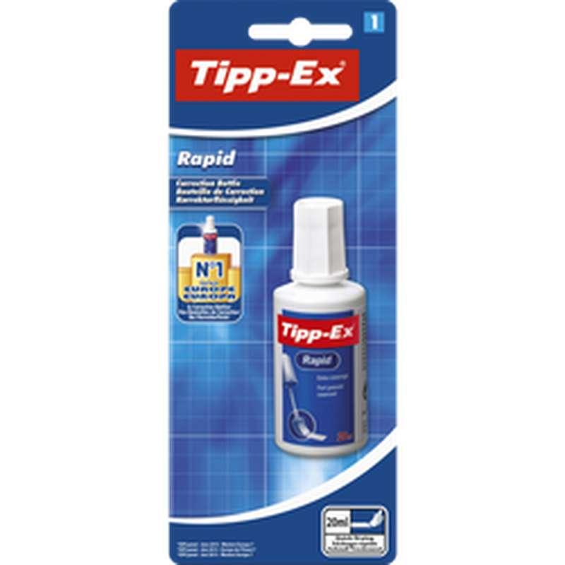 Correcteur liquide avec applicateur Rapid, Tipp-Ex (20 ml)