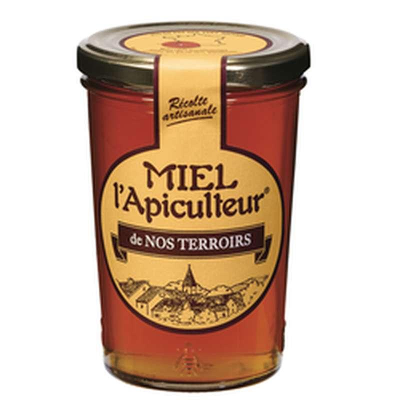 Miel liquide fleurs de nos terroirs, L'Apiculteur (250 g)