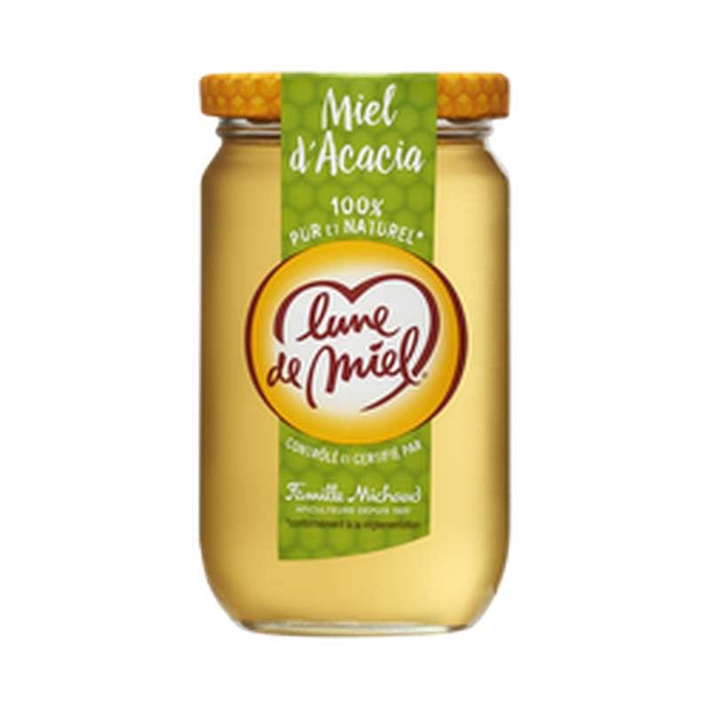 Miel d'acacia liquide, Lune de Miel (375 g)