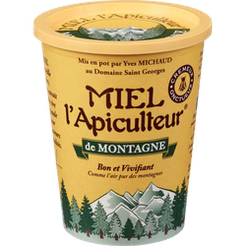 Miel de montagne crémeux, Miel L'Apiculteur (500 g)